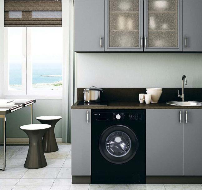 кухня со стиральной машиной хрущевка