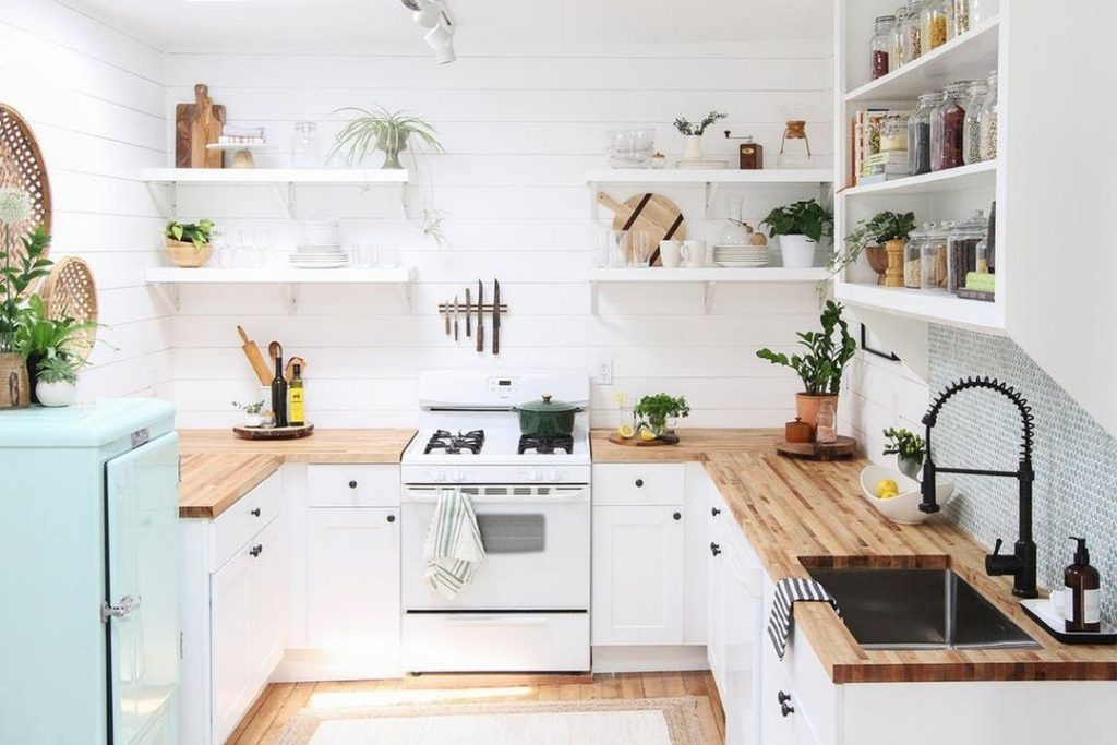 оформление кухни в современном стиле