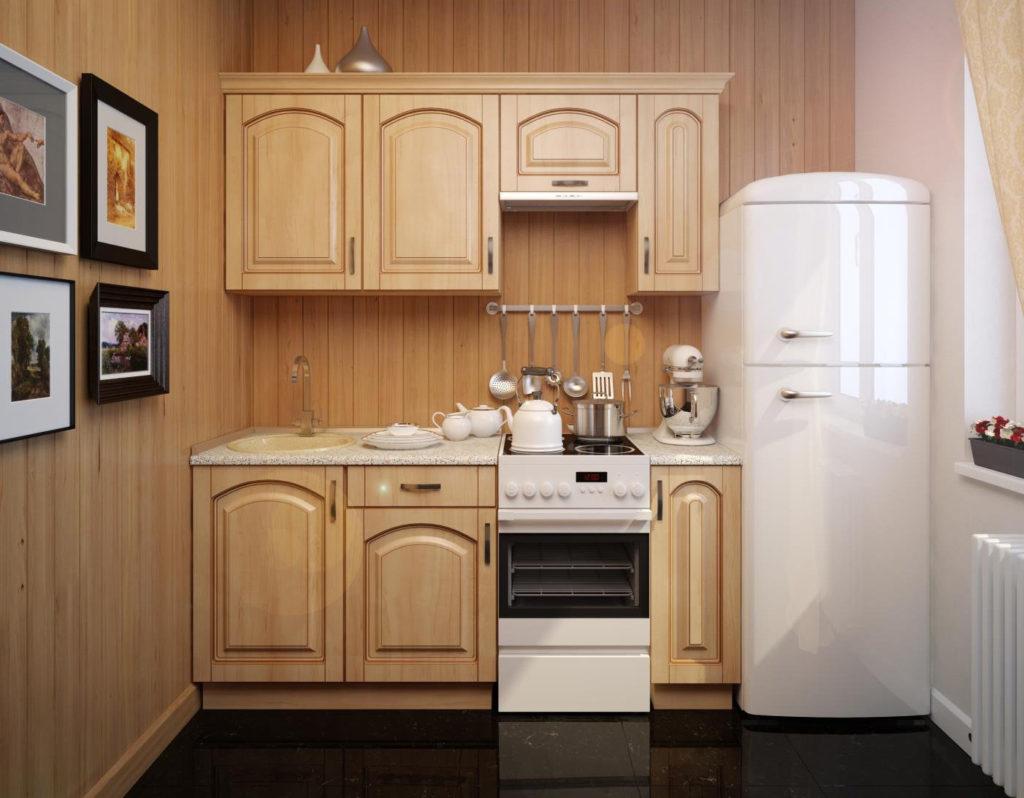 маленькие деревянные кухнималенькие деревянные кухни