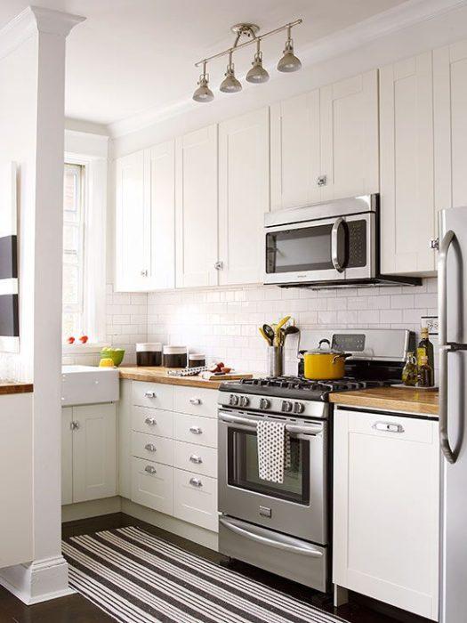 кухня в маленькой комнате