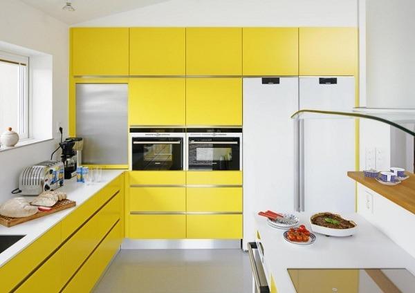 кухня в желтом стиле