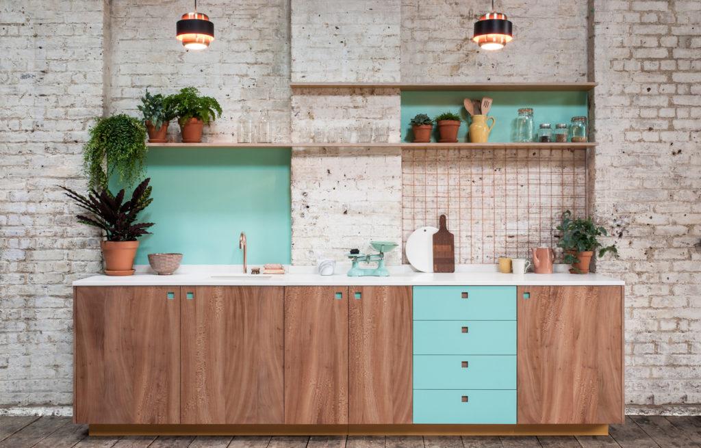 цвет гарнитура кухни фото