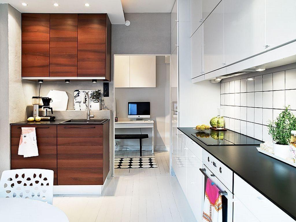 дизайн маленькой кухни фото современные идеи