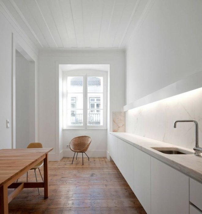 фасады кухни минимализм