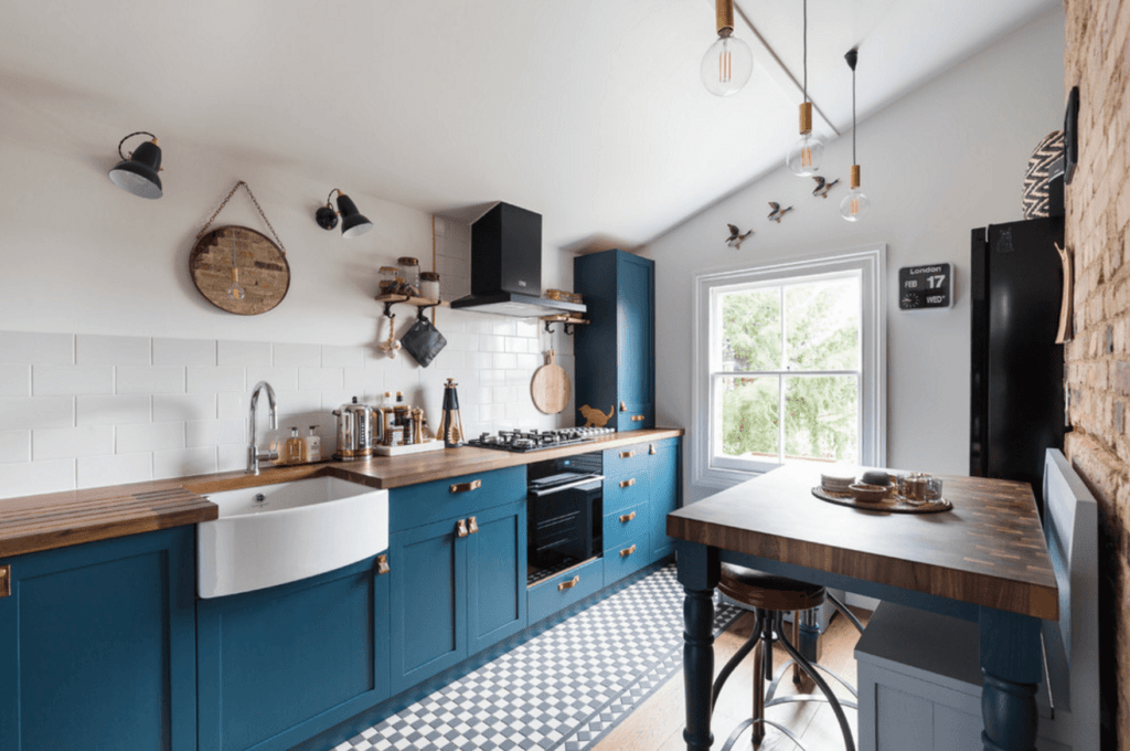 кухни в скандинавском стиле в хрущевке
