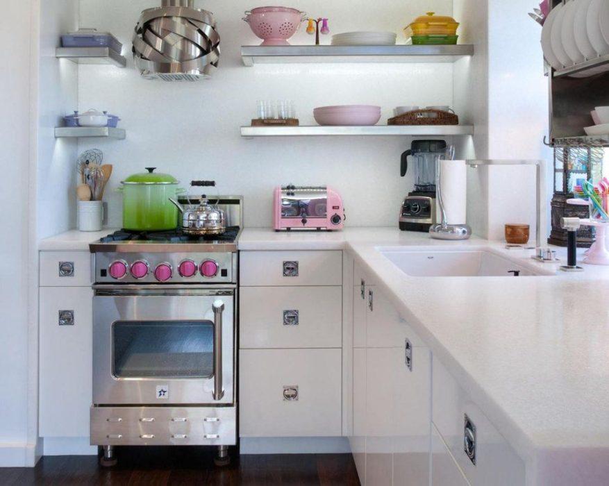 очень маленькие кухни