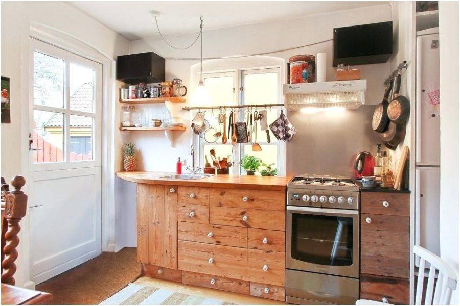 маленькие кухни оформление фото
