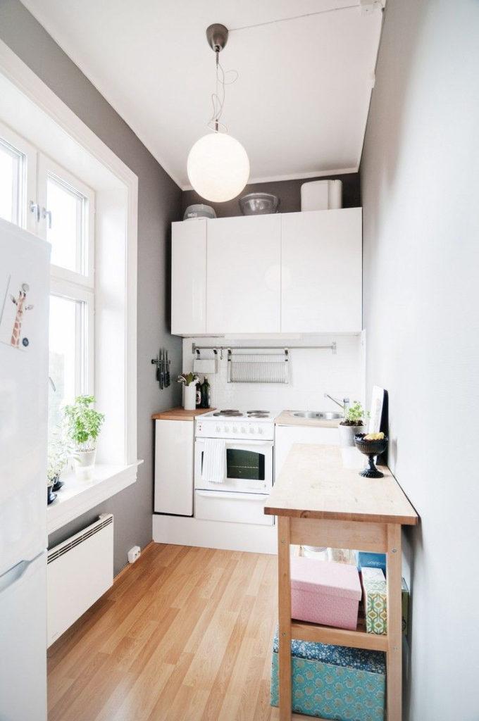 современные кухни фото угловые маленькие