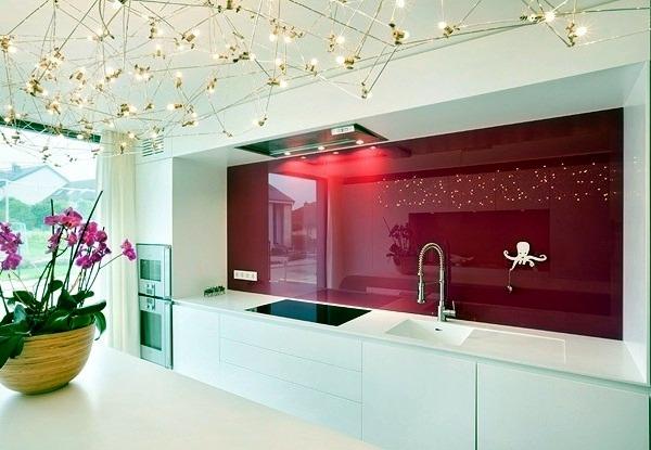 дизайн цвета стен кухни