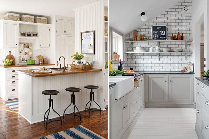 оформление маленькой кухни