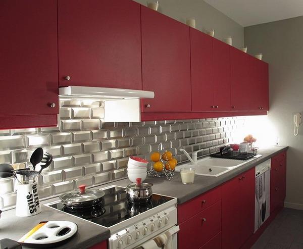 современные цвета кухни фото