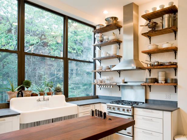 организованное хранение на кухне