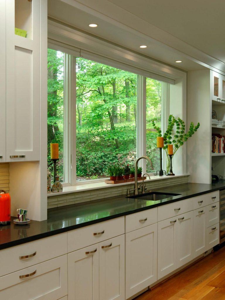 можем обратиться кухонный гарнитур у окна фото нам ещё расскажешь