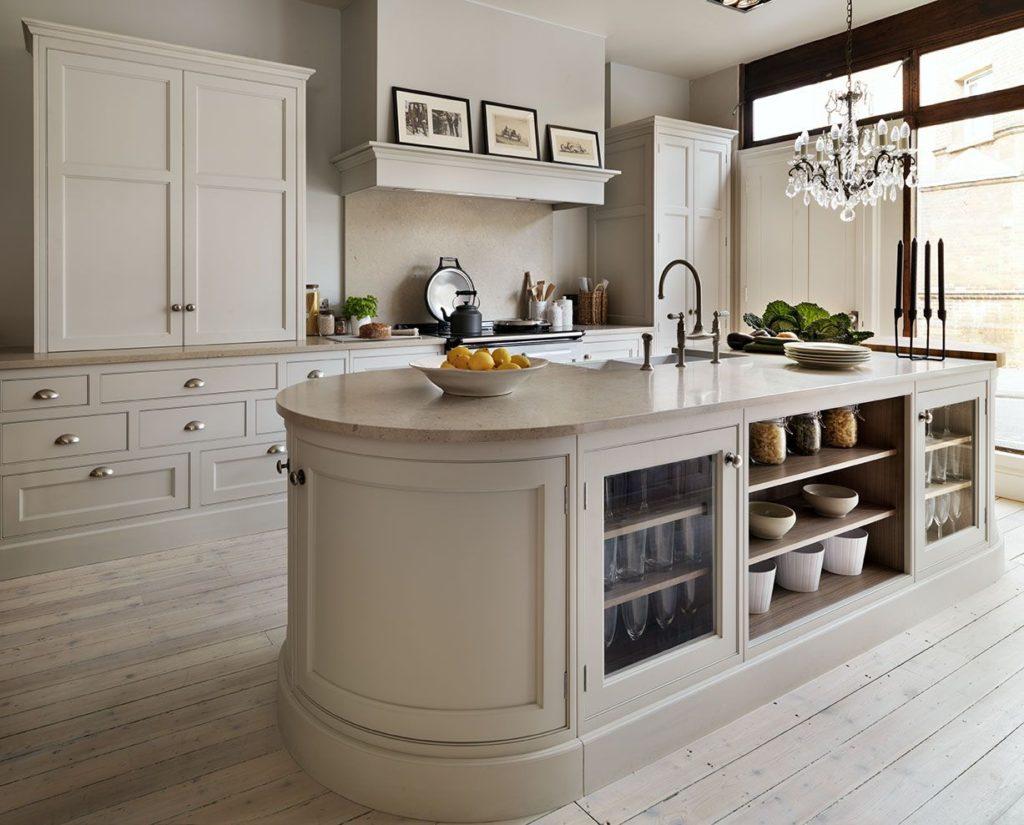 кремовые кухни фото