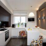 кухня 8 квадратных метров