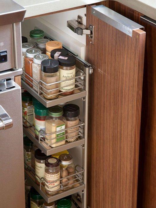 как организовать хранение на кухне