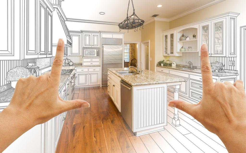интерьер и планировка кухни