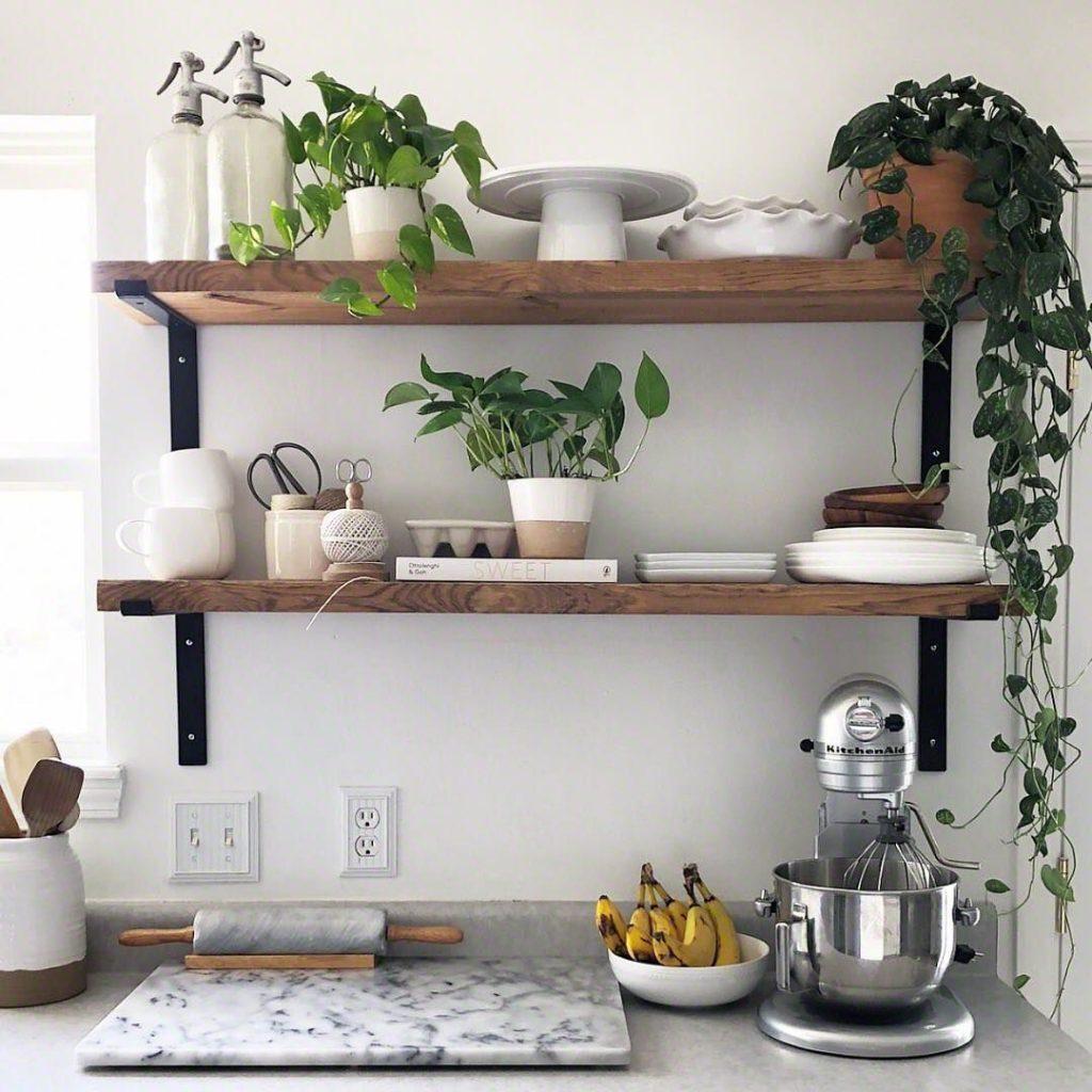 кухонные полки навесные