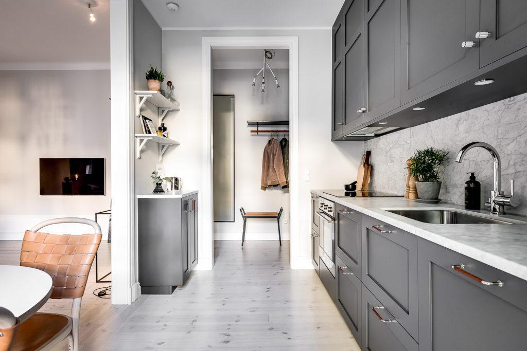 оформление маленькой кухни в квартире