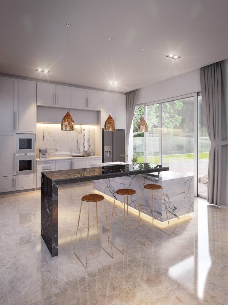 кухня с островом фото