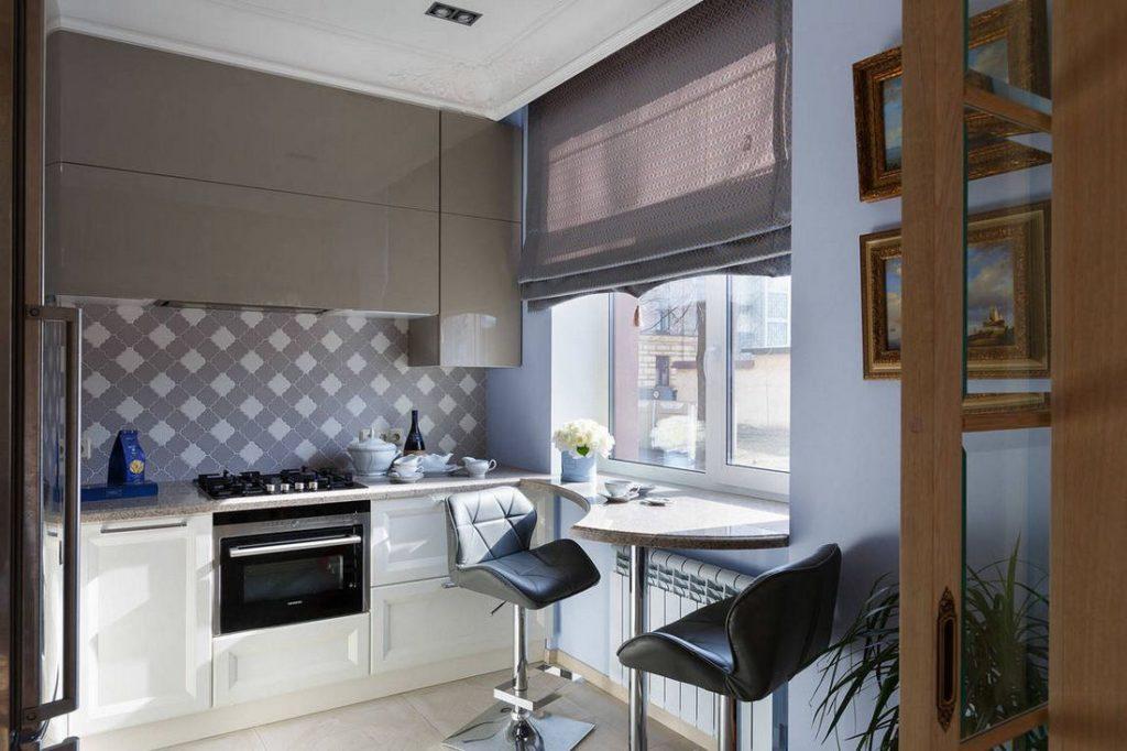 маленькие кухни дизайн фото