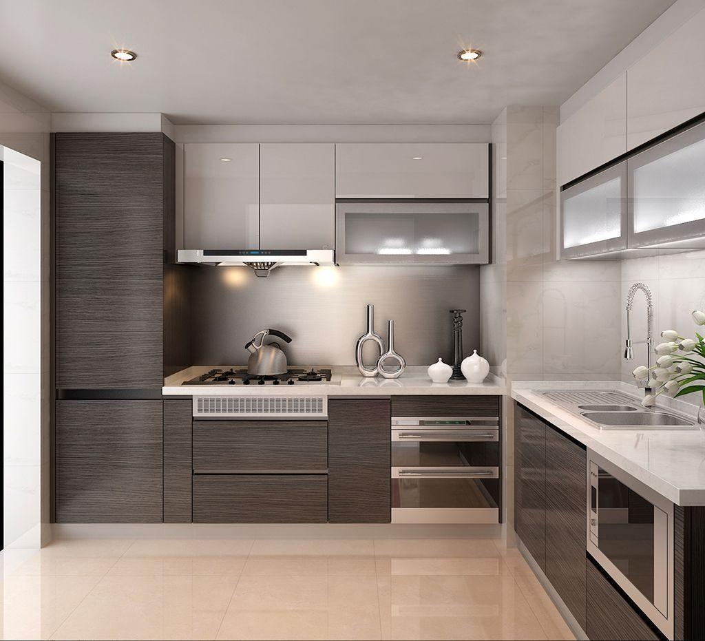 кухня удобное расположение