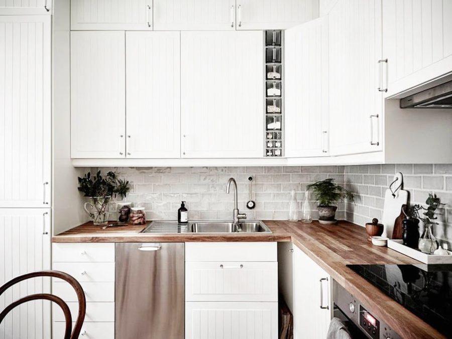 красивые кухни в квартирах