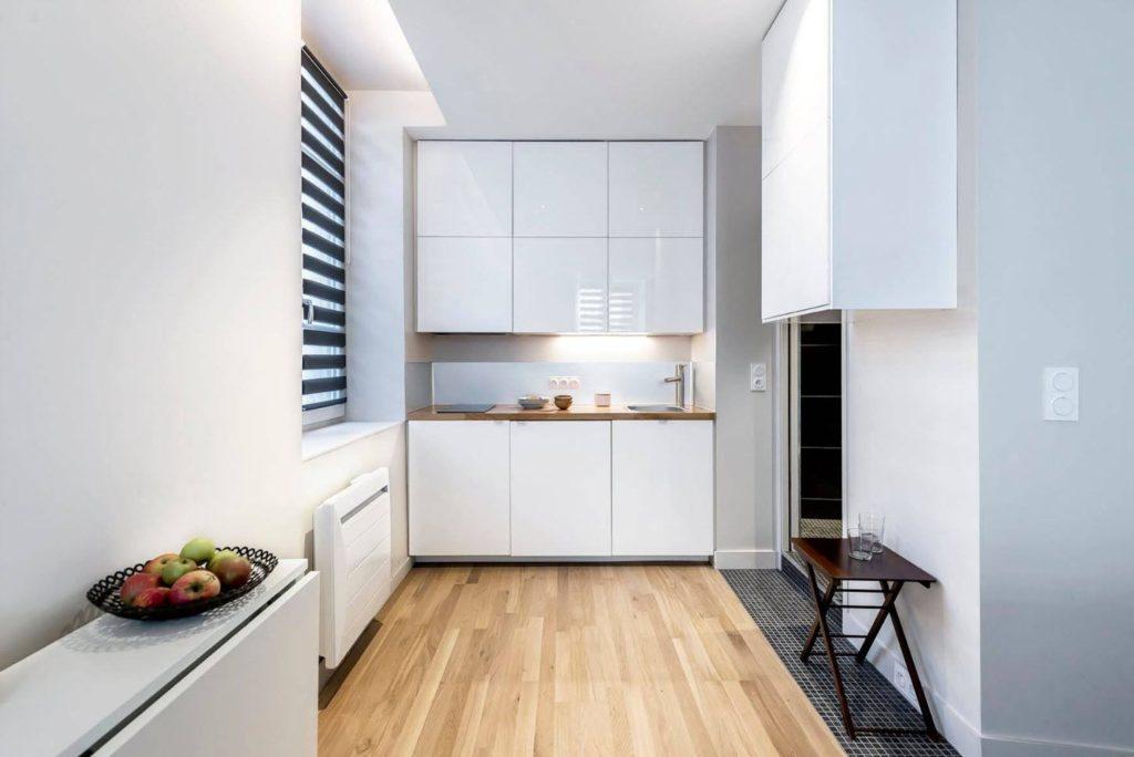 планировка маленькой кухни 4 кв м