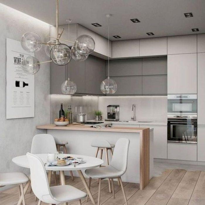 красивая кухня интерьер фото