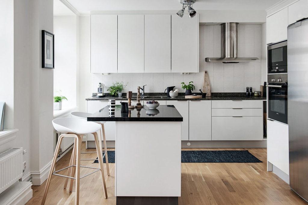 современные кухни маленькую площадь