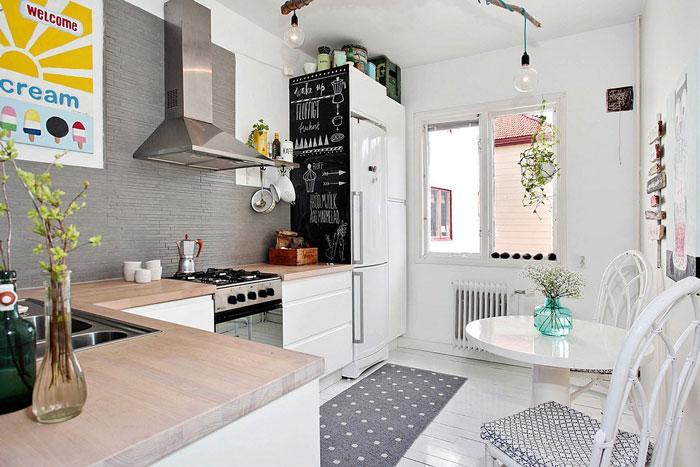 ремонт на маленькой кухне фото варианты отделки