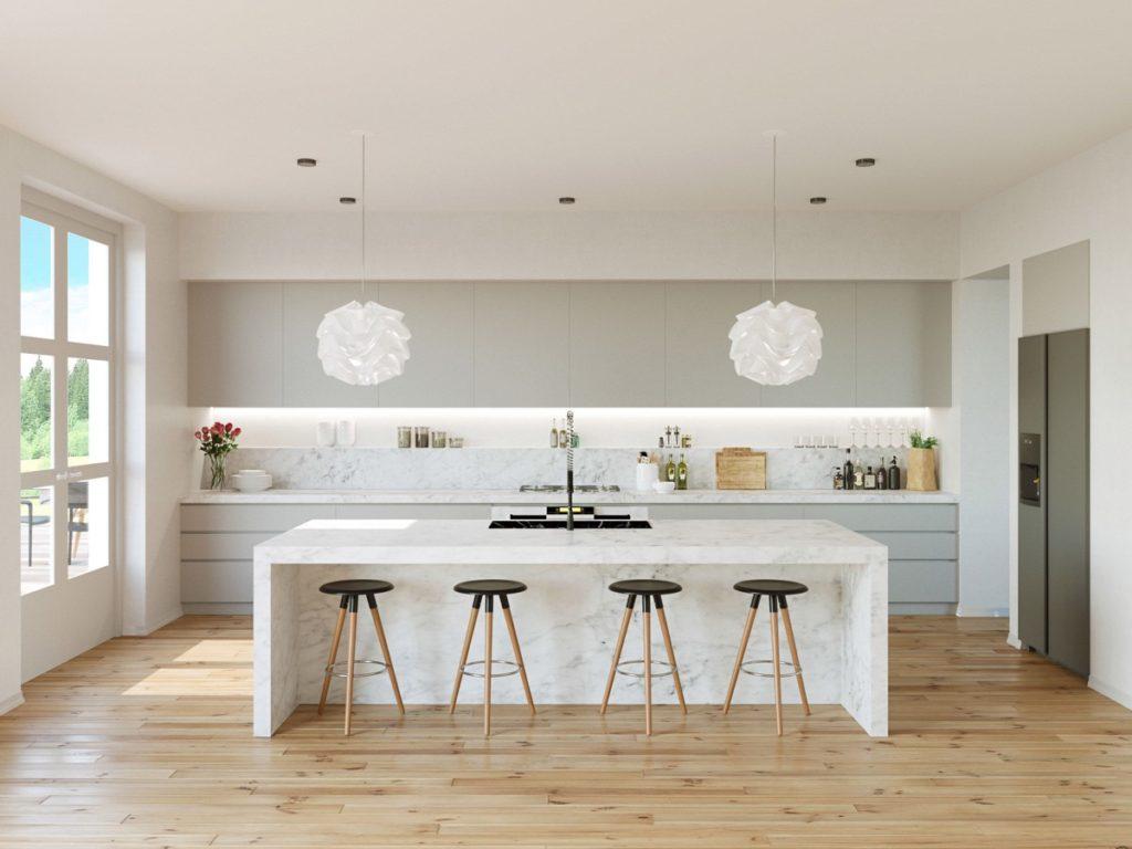 кухня дизайн интерьер стены