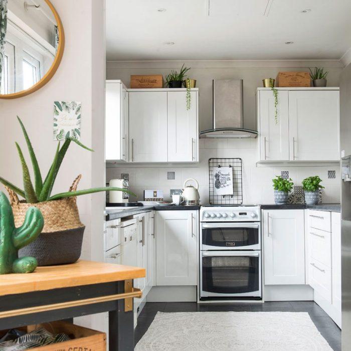 белый гарнитур цвет кухни