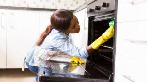 как очистить духовку