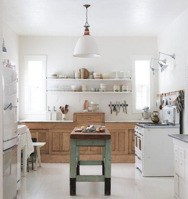 стиль кантри в интерьере кухни