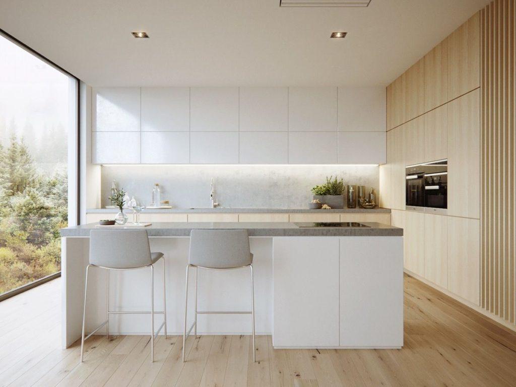 дизайн минимализм кухня в хрущевке