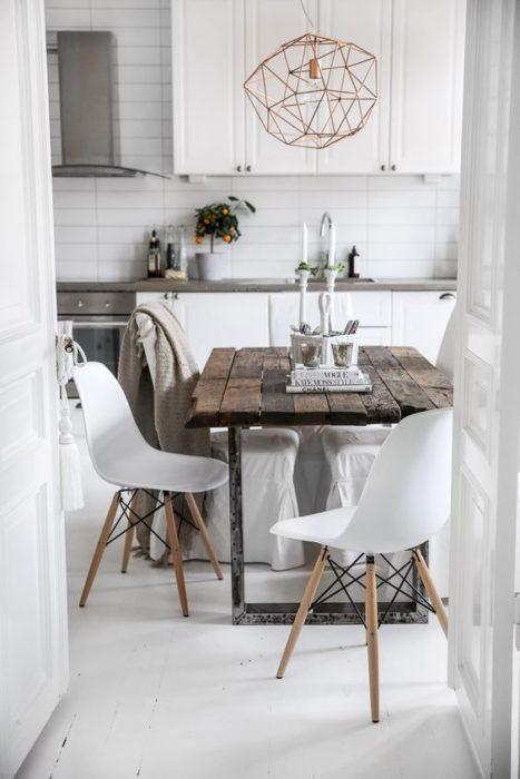 маленькая кухня современный стиль фото