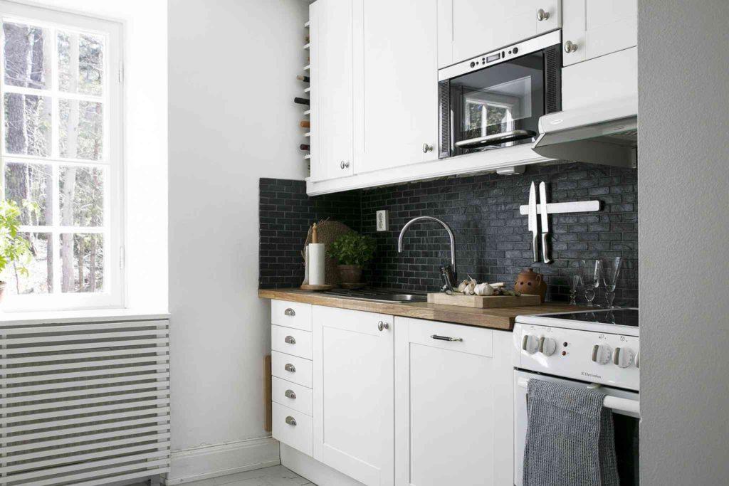 ремонт маленькой кухни своими руками бюджетный вариант