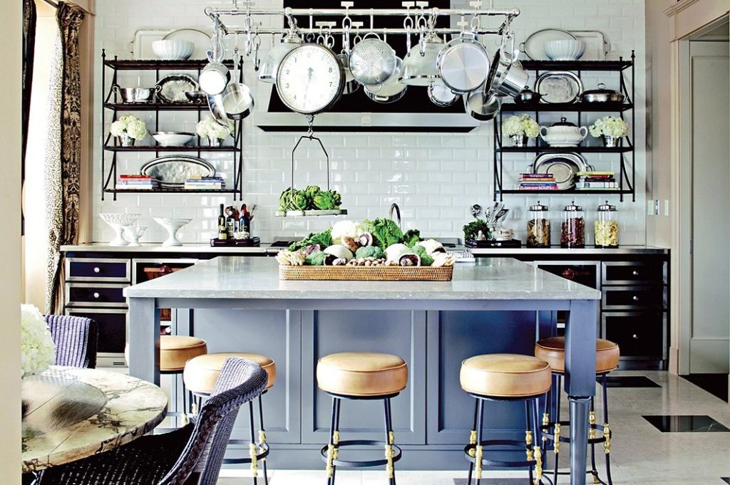 кухня уютная и удобная