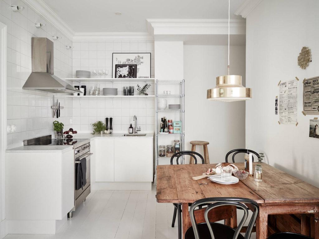 стандартная кухонная мебель