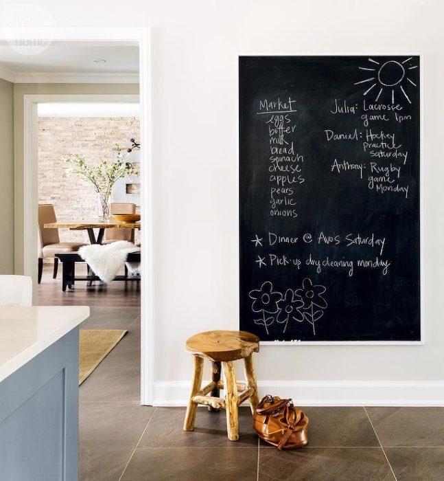 современный дизайн стен кухни