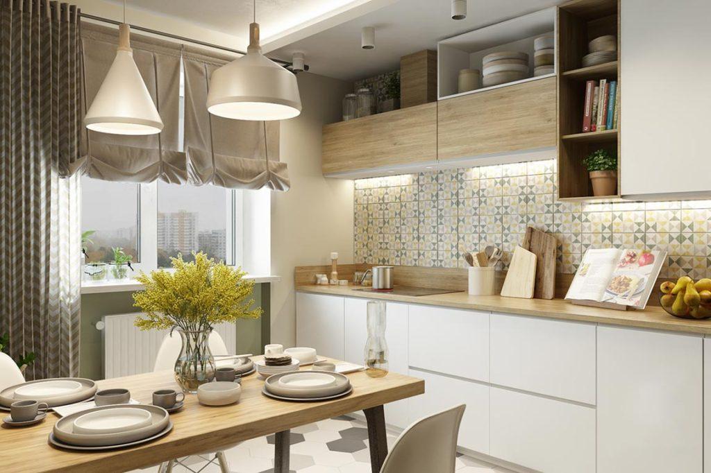 гарнитур для маленькой кухни в хрущевке