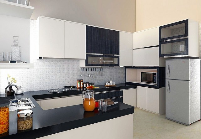 кухня 6 м с холодильником