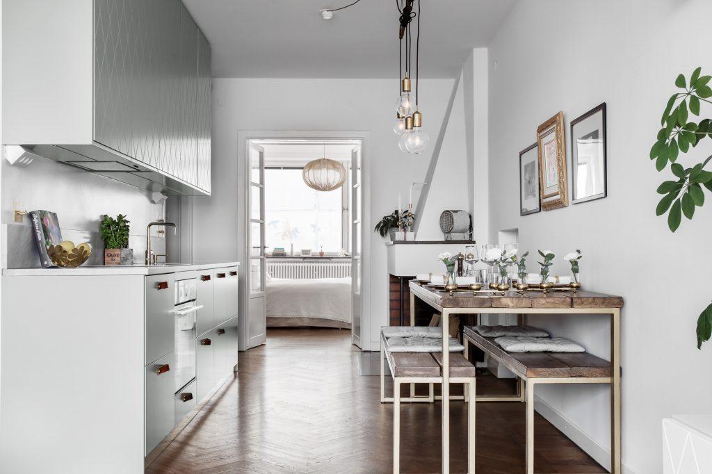 маленькая столовая в квартире