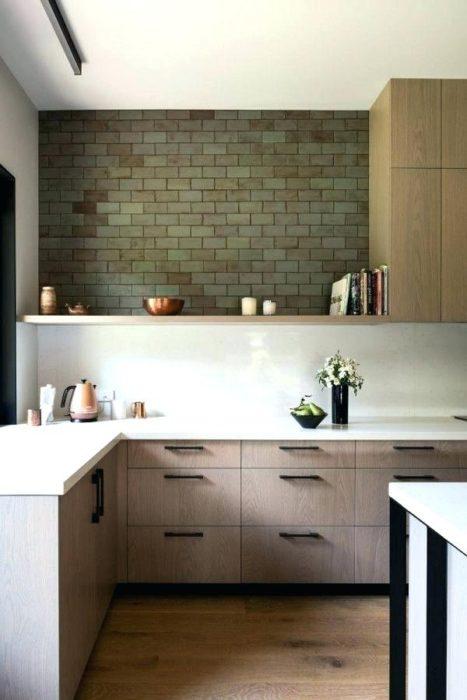 интерьер современной маленькой кухни