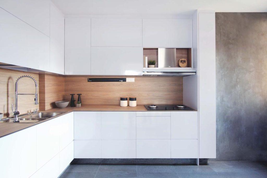 особенности кухни стиля минимализм