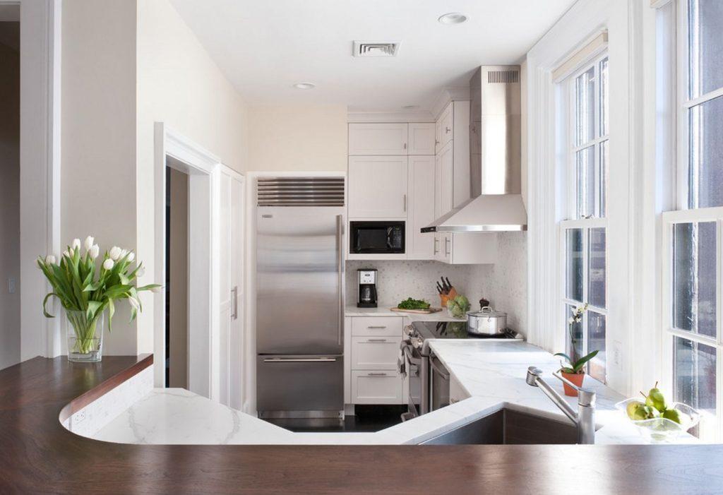 очень маленькая кухня современная кухня в хрущевке фото