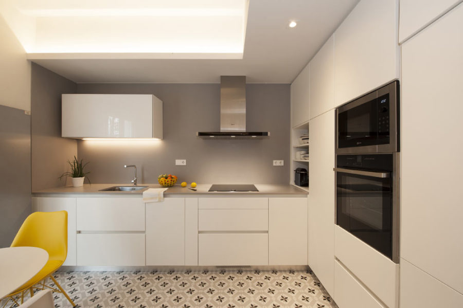 кухня 20 м планировка