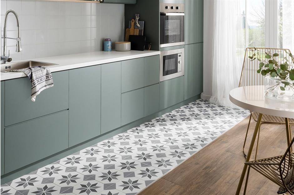 цвет пола на кухне
