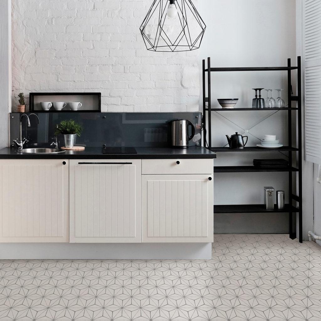 кухня пол линолеум